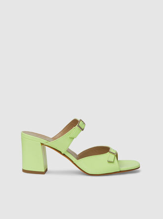 Maryam Nassir Zadeh - Una Double Buckle Patent Leather Sandals