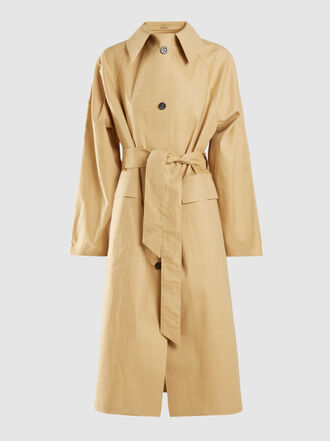 KASSL - Coated Cotton-Blend Coat