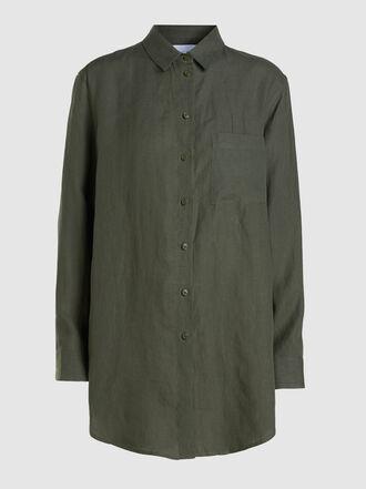 Asceno - Boyfriend Linen Shirt