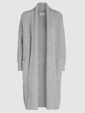 Le Kasha - Bermuda Long Ribbed Cashmere Cardigan