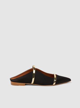 Malone Souliers - Maureen Satin Slippers