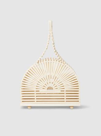 Cult Gaia - Dome Mini Bamboo Clutch