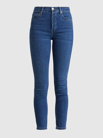 RE/DONE - High-Rise Cropped Jeans