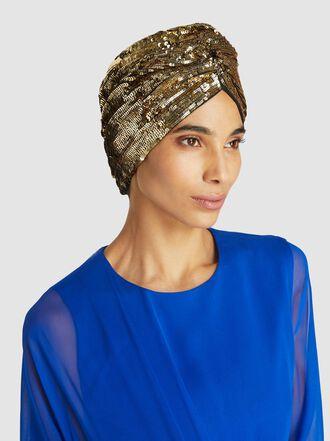 Maryjane Claverol - Adele Sequin Turban