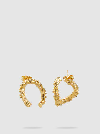 ALIGHIERI - The Night Shift Gold-Plated Earrings