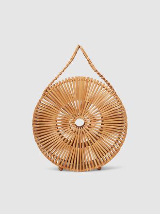Cult Gaia - Zaha Bamboo Clutch