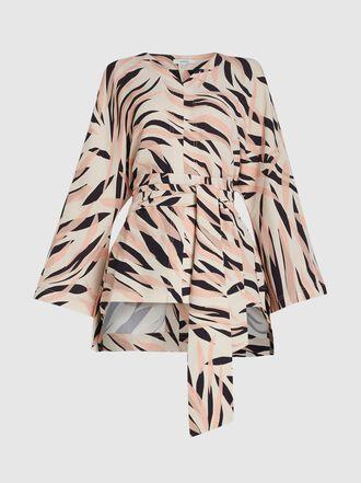 LAYEUR - Claudetta Dolman Sleeve Crepe Tunic