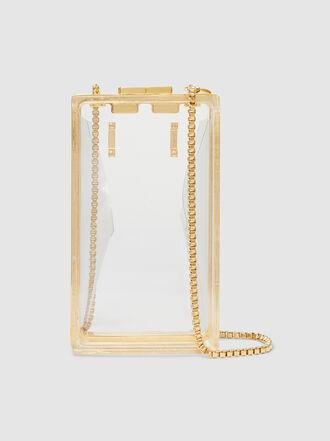 Marzook - Capsule Rectangular Plexiglass Belt & Shoulder Bag