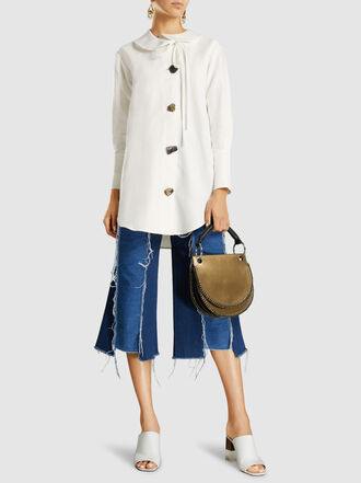 Marni - Metallic Leather Shoulder Bag