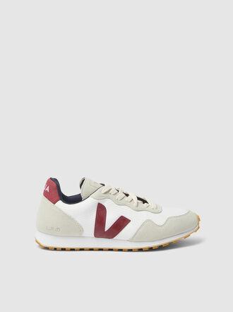 VEJA - SDU REC White Mesh Sneakers