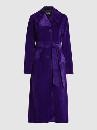 Marc Jacobs - The Velveteen Denim Trench Coat