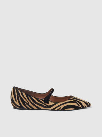 Tabitha Simmons - Hermione Zebra Print Flats