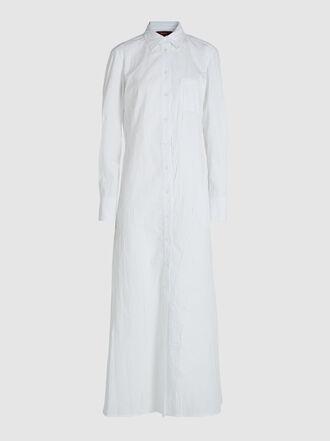 SIES MARJAN - Isabella Crinkled Poplin Cotton-Blend Shirt Dress
