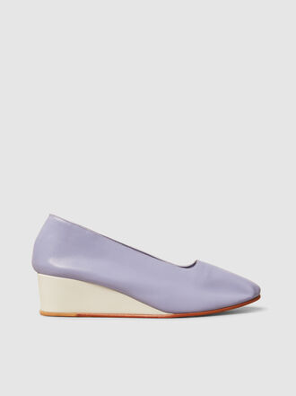MARTINIANO - Glove Two-Tone Leather Wedges