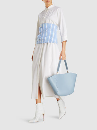 Mansur Gavriel - Ocean Leather Tote Bag