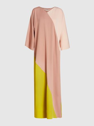 LAYEUR - Pastel Carson Diagonal Colour Block Dress