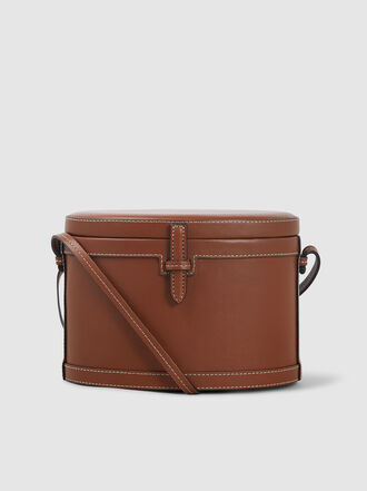 HUNTING SEASON - Leather Trunk Shoulder Bag