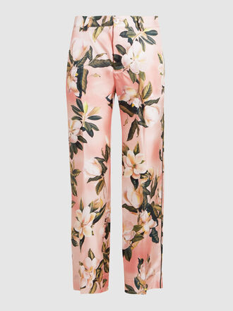 F.R.S For Restless Sleepers - Tartaro Printed Silk Trousers