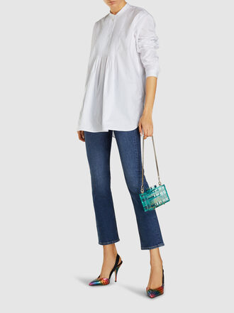 L'Afshar - Grace Acrylic Box Bag