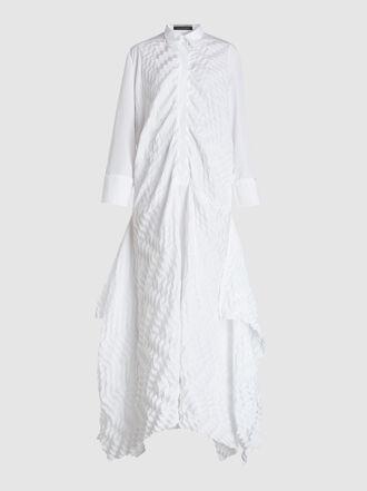 ROLAND MOURET - Penhale Long Sleeve Shirt Dress