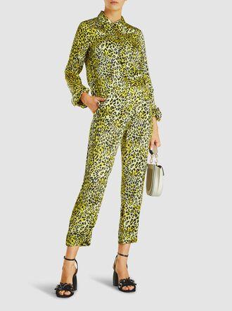 Baum und Pferdgarten - Narethe Leopard Silk Trousers