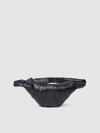 Lemaire - Croissant Panel Leather Shoulder Bag