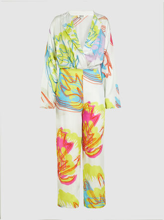 All Things Mochi - Anushka Long Sleeve Floral Jumpsuit