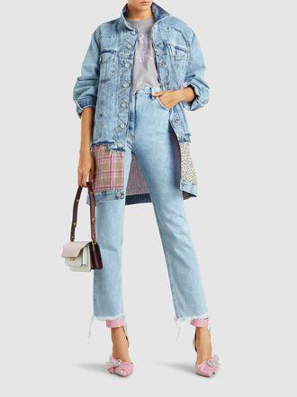 Natasha Zinko - Distressed Slim-Leg Jeans
