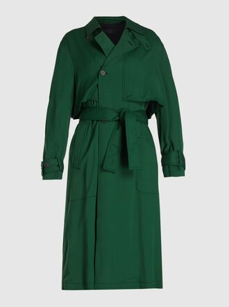 Haider Ackermann - Fluid Tie Waist Crepe Trench Coat
