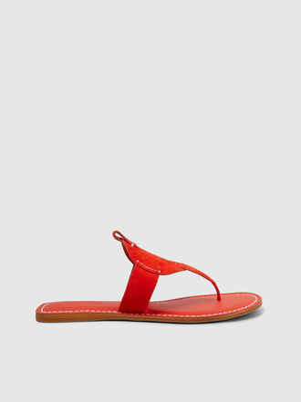 MERCEDES CASTILLO - Mayla Flat Leather Sandals