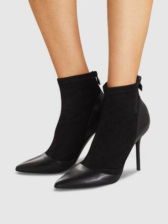 Pierre Hardy - Leather-Trimmed Suede Ankle Boots
