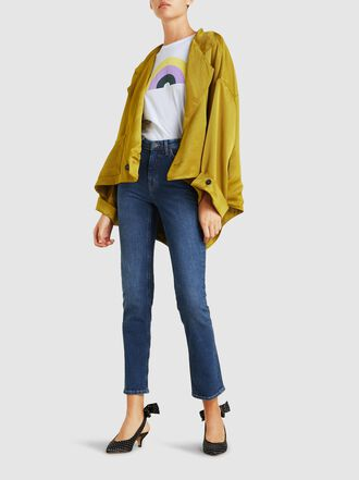 M.i.h Jeans - Daily High-Rise Straight-Leg Jeans