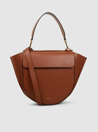 WANDLER - Hortensia Medium Leather Bag