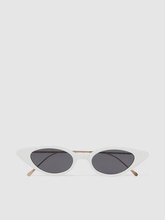 Illesteva - Marianne White Sunglasses