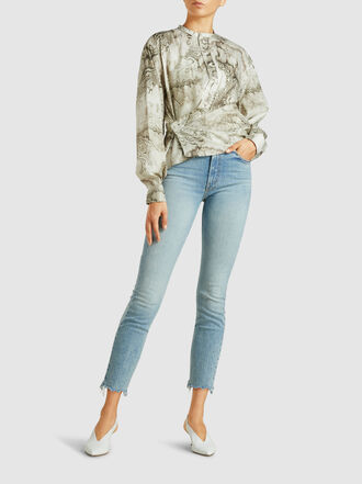 MOTHER - The Stunner Distressed Skinny Jeans
