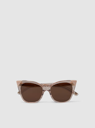 Pared - Cat & Mouse Cat-Eye Acetate Sunglasses