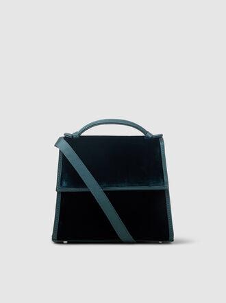 HUNTING SEASON - Top Handle Velvet Bag