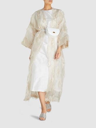 bambah - Isabella Gold Tinsel Thread Two Piece Dress
