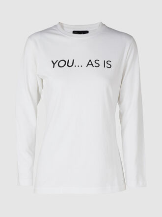Dima Ayad - You As Is Cotton T-Shirt