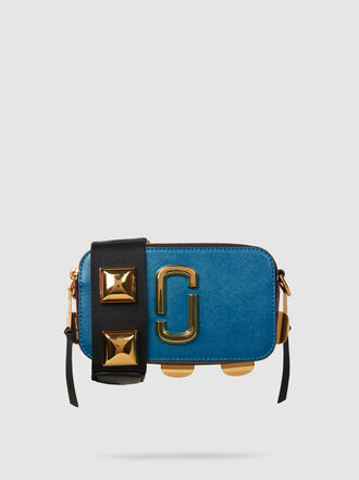 Marc Jacobs - Snapshot Studded Leather Shoulder Bag