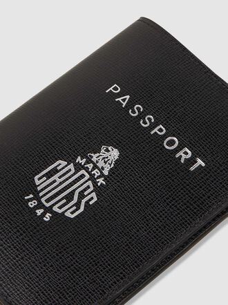 MARK CROSS - Saffianio Leather Passport Cover