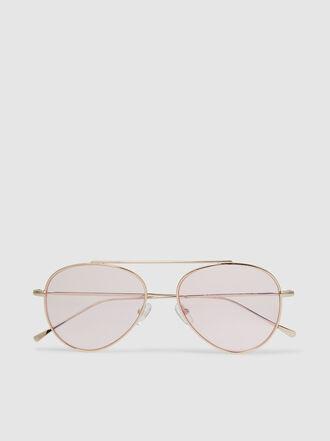Illesteva - Dorchester Metal Frame Aviator Sunglasses