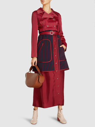 WANDLER - Yara Half-Moon Calf Leather Bag