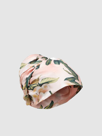 F.R.S For Restless Sleepers - Floral Print Silk Turban