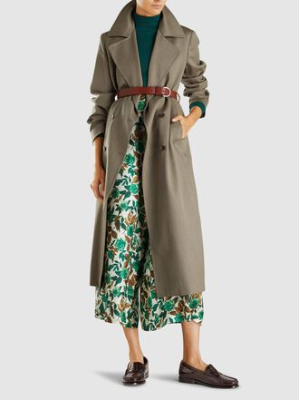 Giuliva Heritage Collection - The Christie Wool Trench Coat