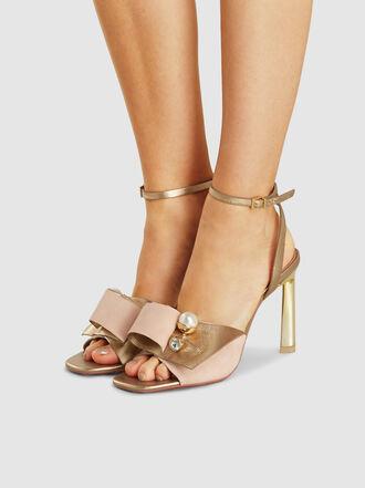 MERCEDES CASTILLO - Keira Embellished Leather Sandals