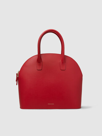 Mansur Gavriel - Top Handle Rounded Leather Bag
