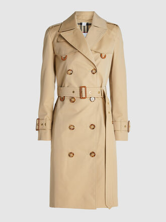 Burberry - Islington Cotton-Gabardine Trench Coat