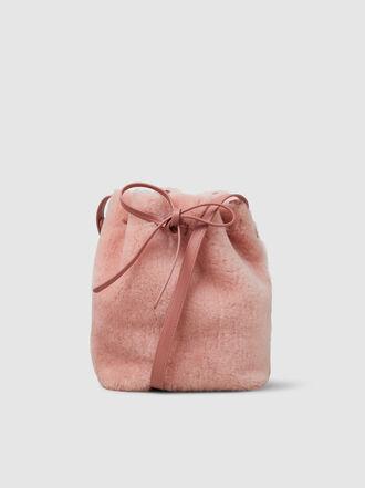 Mansur Gavriel - Shearling Mini Bucket Bag