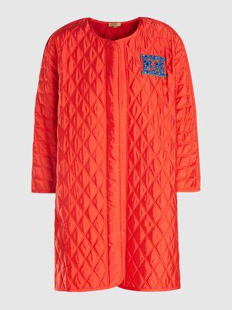 Escada - Long Sleeve Cashmere Knit Coat